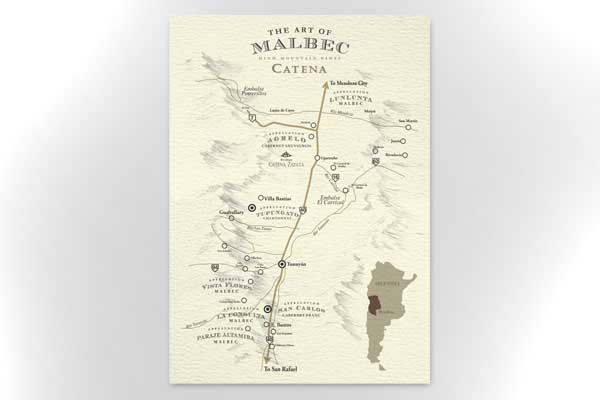 Catena Appellation - Map