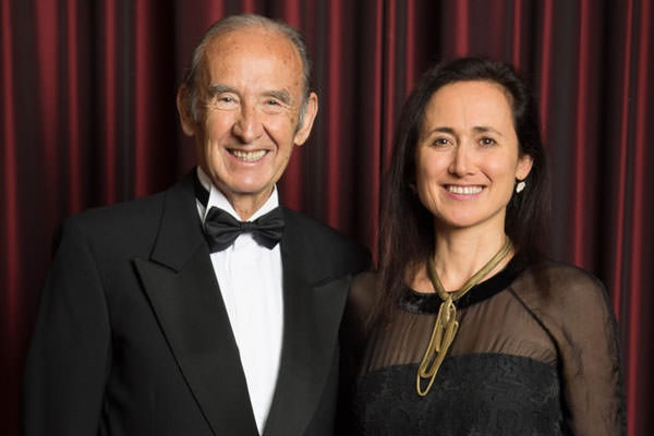 laura catena and dr. nicolas catena zapata